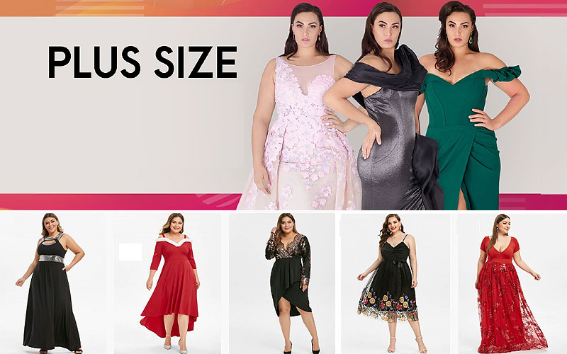 Up to 60% Off on Trendy Plus Size Prom Dresses
