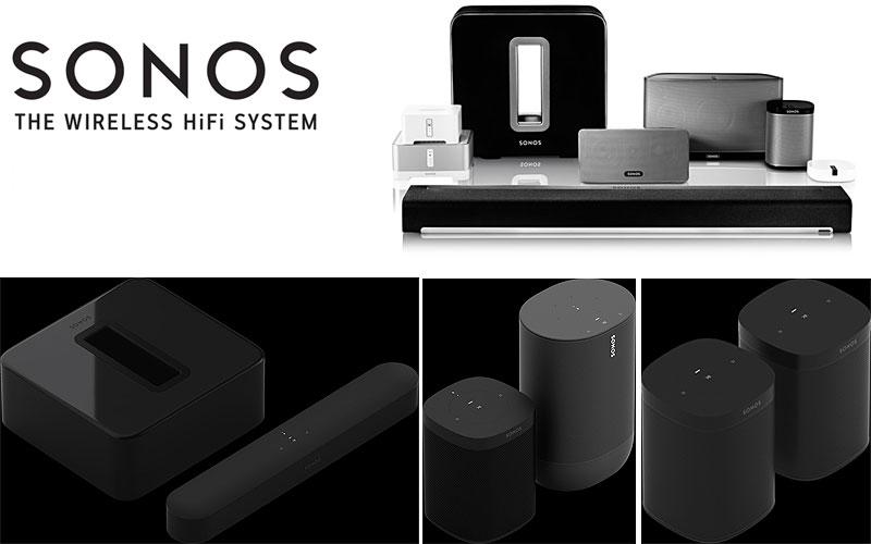 Up to 5% Off on Sonos Speaker Sets