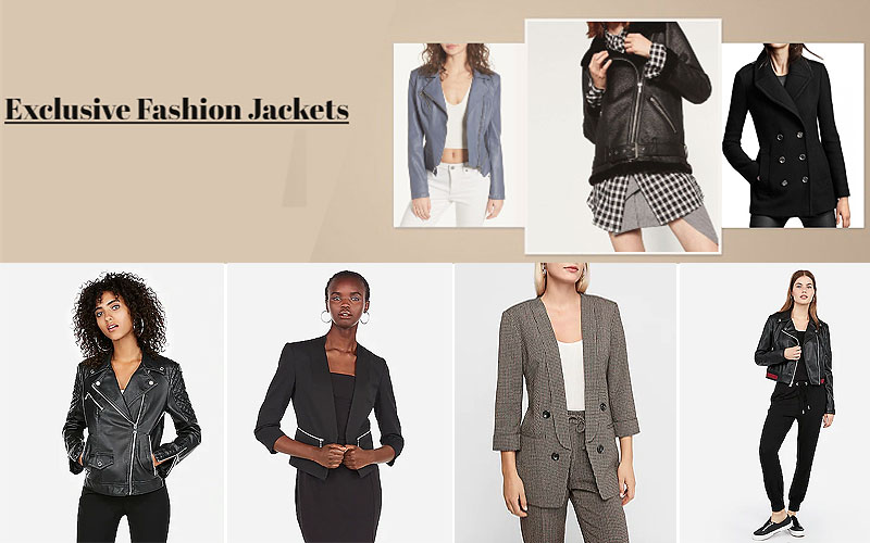 Up to 85% Off on Trendy Women's Jackets & Blazers