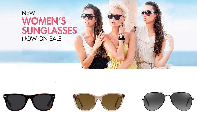 Up to 40% Off on Designer Sunglasses for Women