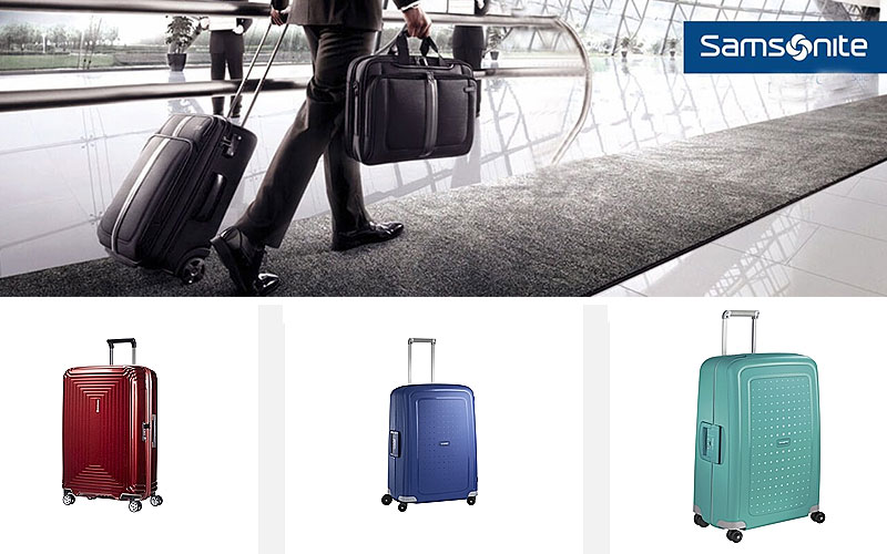 Up to 40% Off on Best Samsonite Luggage