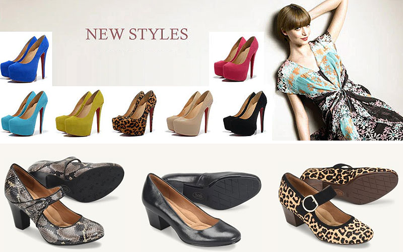 Trendy Ladies Pumps Shoes at Discount