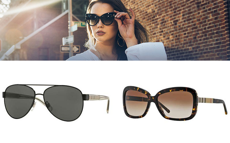 Shop Online Trendy Burberry Sunglasses For Women