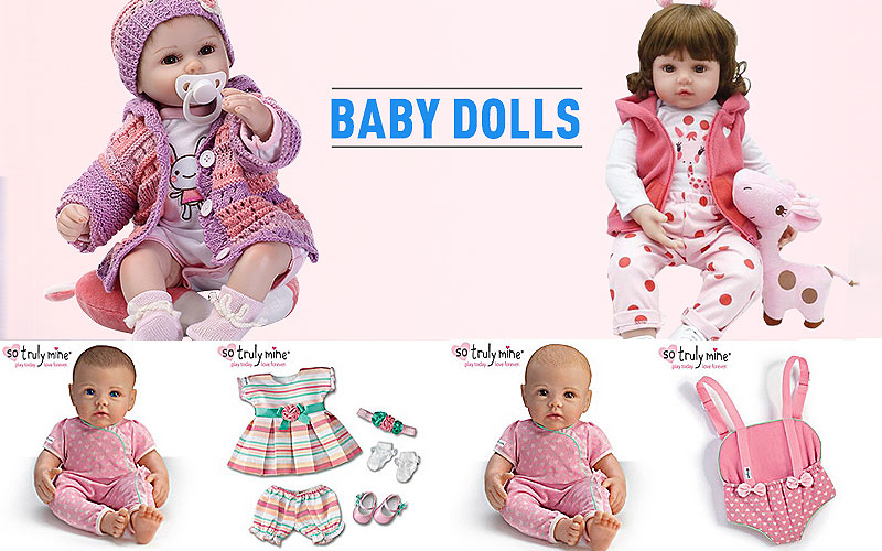 So Truly Mine Baby Dolls & Accessories on Sale Price