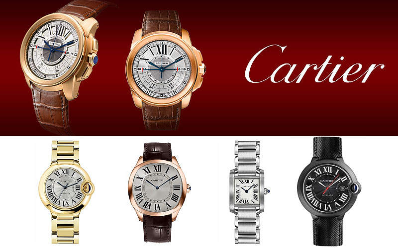 Up to 50% Off on Luxury Cartier Watches
