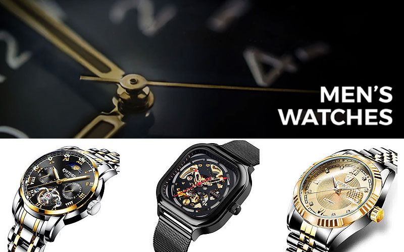 Up to 55% Off on Men's Mechanical Watches