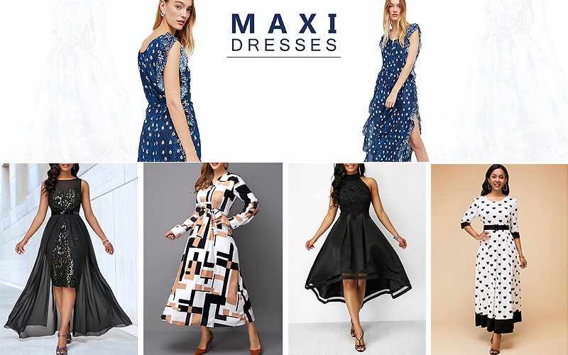 Up to 50% Off on Stylish Maxi Dresses