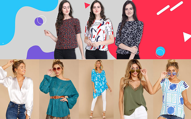 Sale: Up to 75% Off on Women's Tops