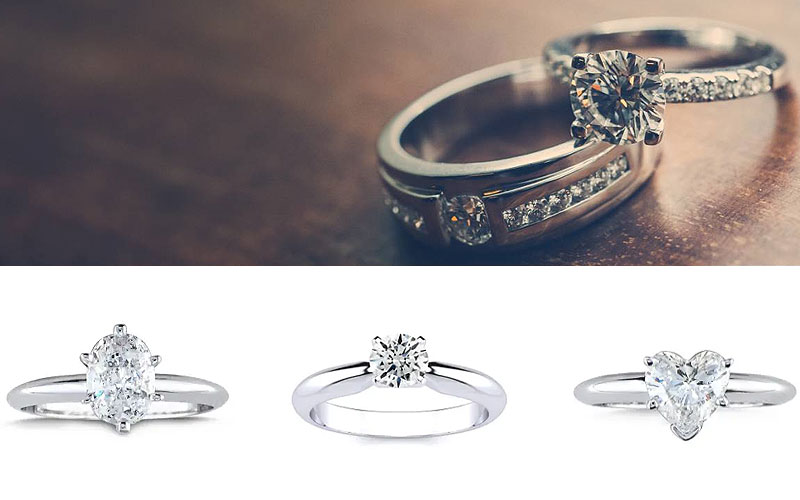 Up to 65% Off on Engagement Diamond Rings