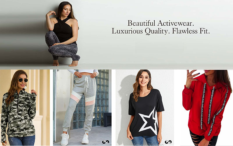 Up to 50% Off on Women's Activewear