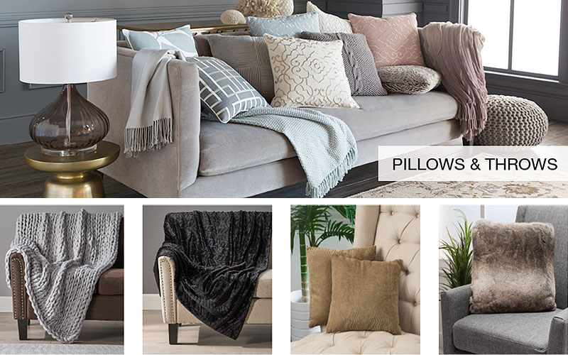 Buy Discount Decorative Indoor Throws & Pillows