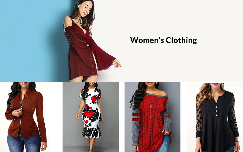 Up to 50% Off on Women's Classic Fashion Apparel