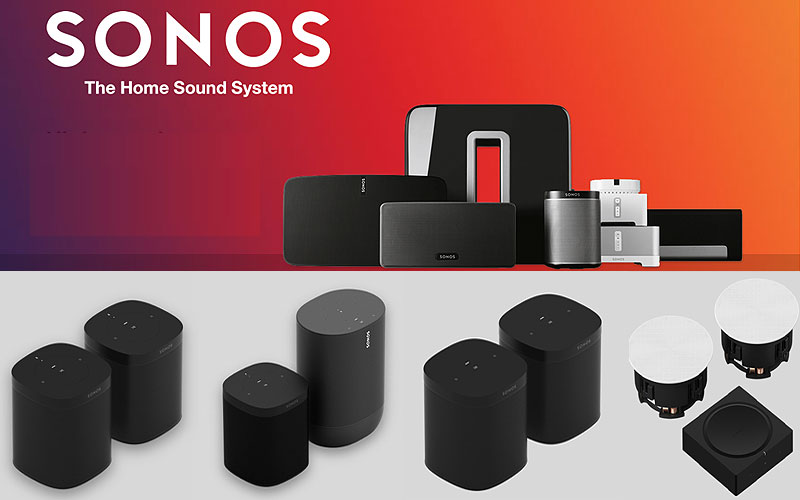 Sale: Sonos Speaker Sets at Discount Prices