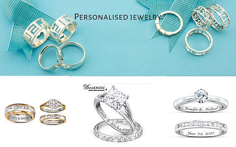 Buy Personalized Rings for Weddings & Engagements
