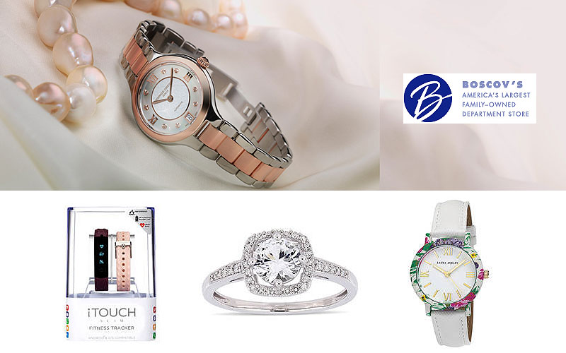 Up to 60% Off on Modern Jewelry & Watches