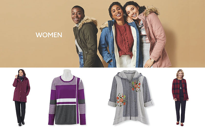 Up to 60% Off on Stylish Women's Sweaters & Jackets