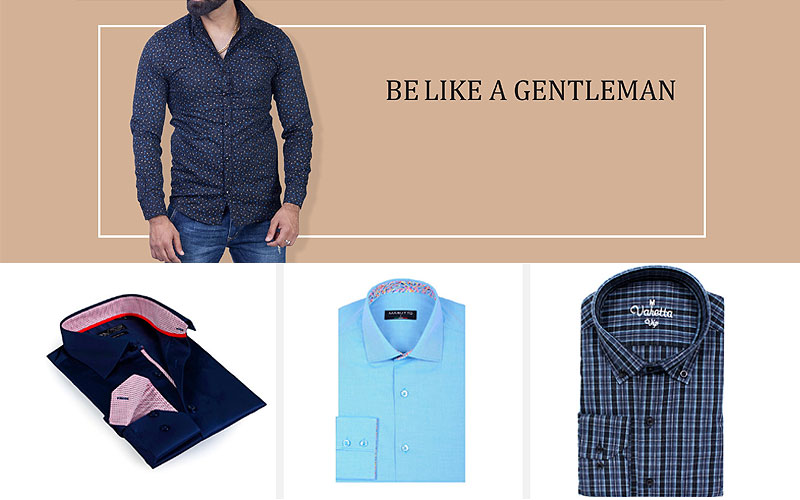 Up to 80% Off on Modern Men's Shirts