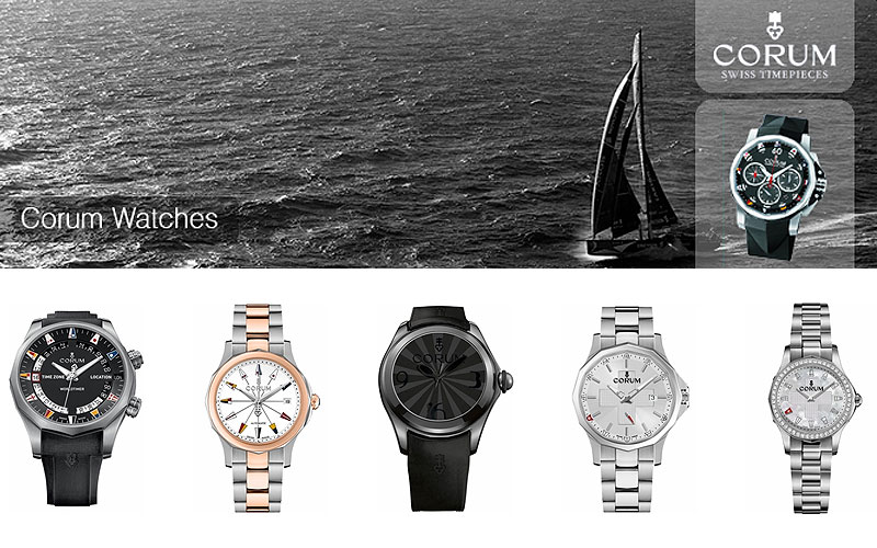 Up to 70% Off on Luxury Corum Watches