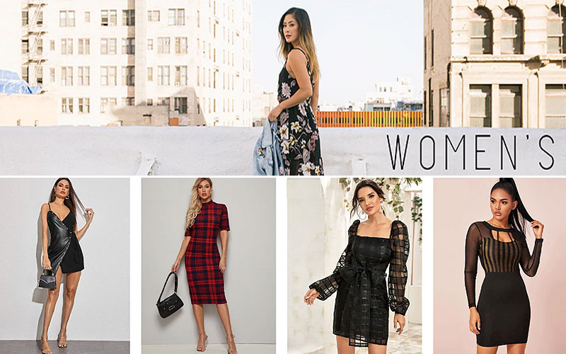Up to 60% Off on Trendy Women's Dresses On Sale
