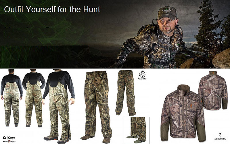 Up to 75% Off on Hunting Clothes & Apparel