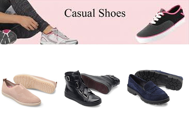 Easter Special: Up to 50% Off on Women's Casual Shoes