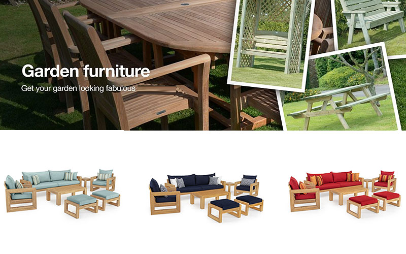 Easter Special: 20% Off on Outdoor Wood Furniture