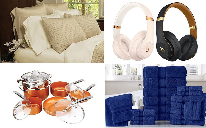 Up to 85% Off on Bedding, Kitchen Supplies, Bath & More