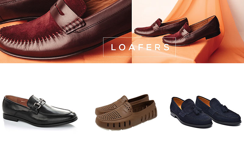 Up to 60% Off on Best Men's Loafers & Slip On Shoes