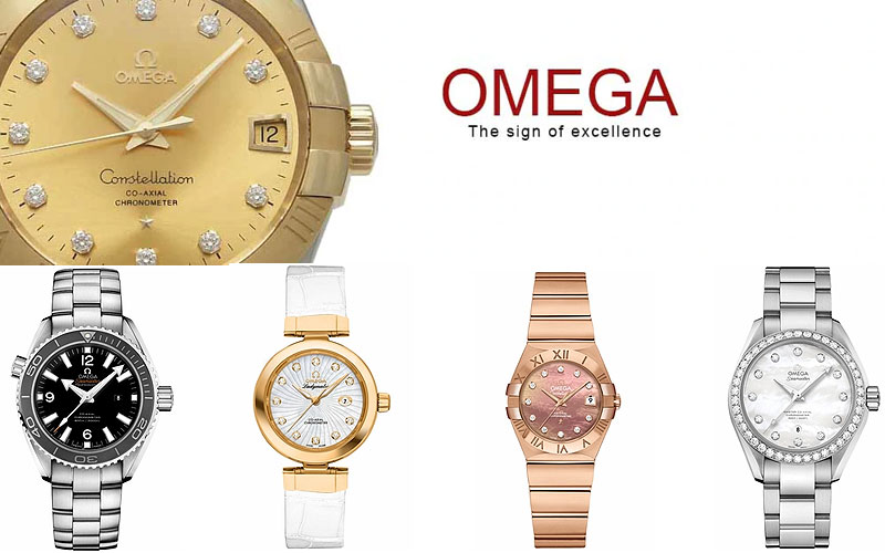 Up to 60% Off on Omega Watches for Women