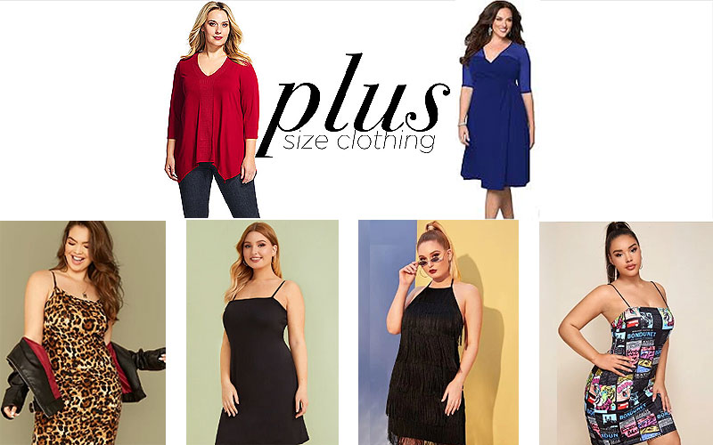 Up to 60% Off on Women's Plus Size Dresses