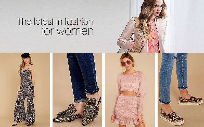 Up to 75% Off on Trendy Women's Apparel & Shoes