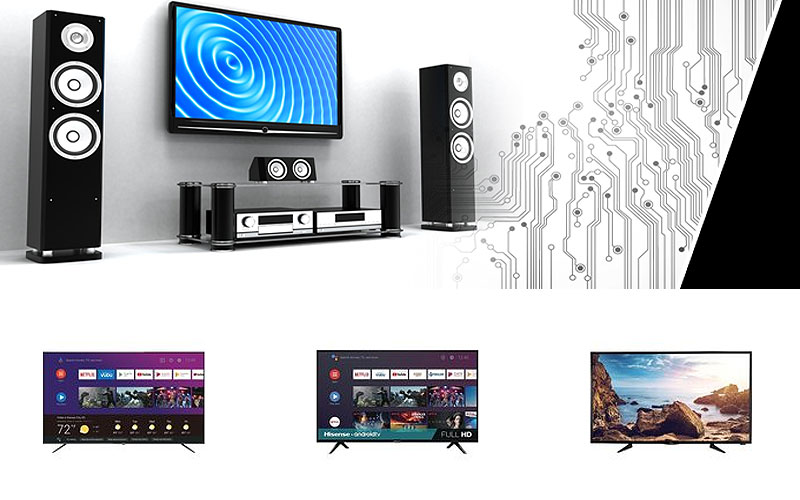 Up to 50% Off on TV & Home Theater