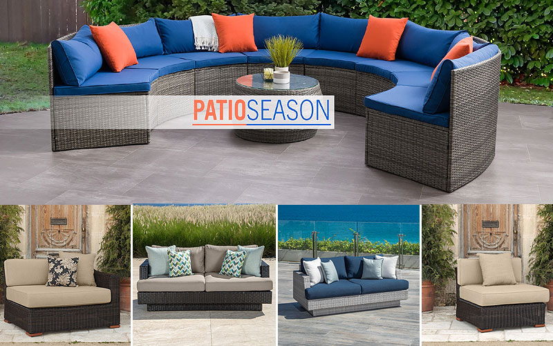 Up to 60% Off on Outdoor Sofas & Sectionals