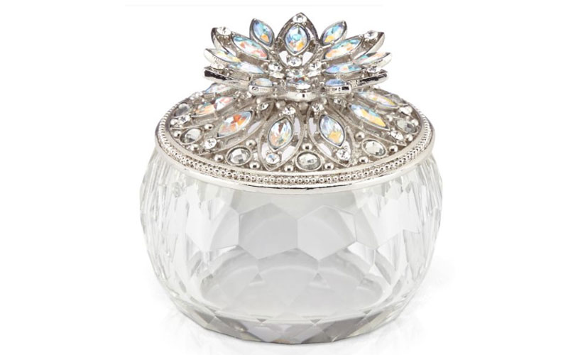 Elegant Crystalline Keepsake Box by Lenox
