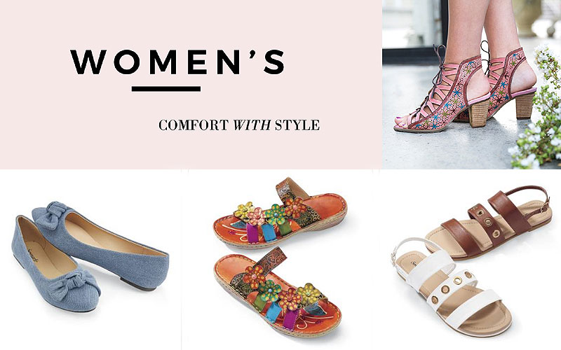 Footwear Sale: Up to 40% Off on Trendy Women's Shoes & Sandals