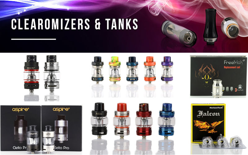 Best Clearomizer Vape Tanks on Sale