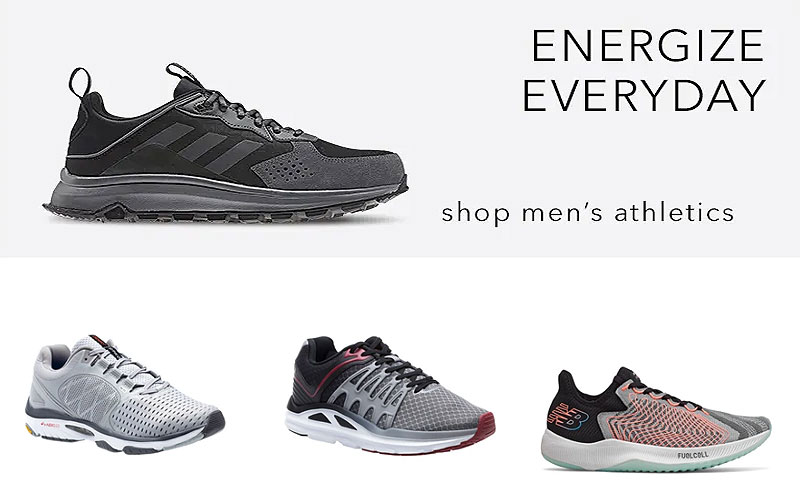 Up to 50% Off on Athletic Shoes for Men