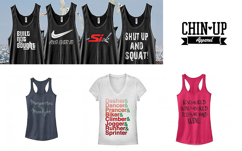 20% Off on Junior's Muscle Tees & Tank Tops