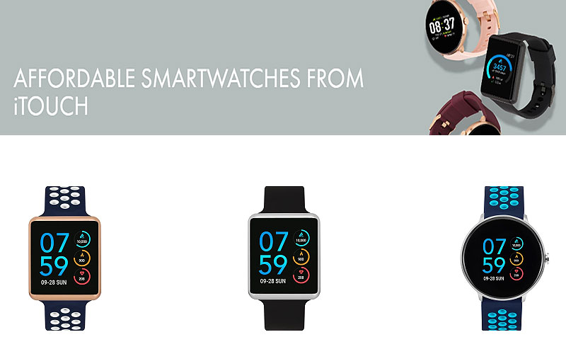 Up to 60% Off on iTouch Smart Watches