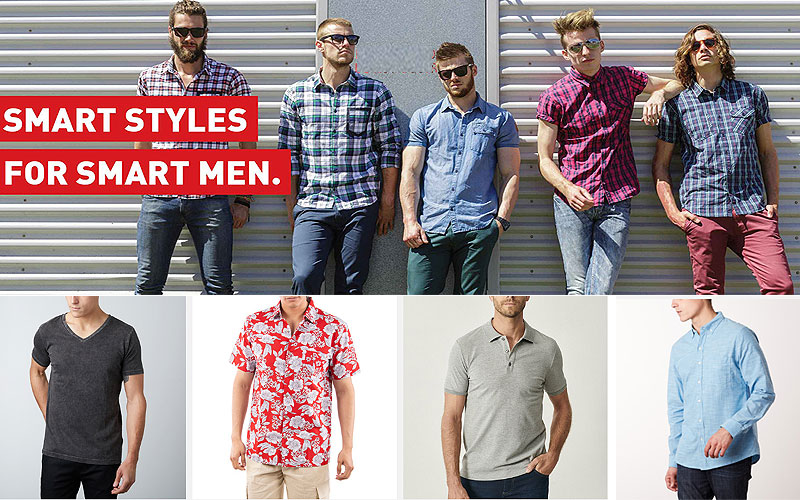 Summer Sale: Up to 75% Off on Men's Shirts & T-Shirts