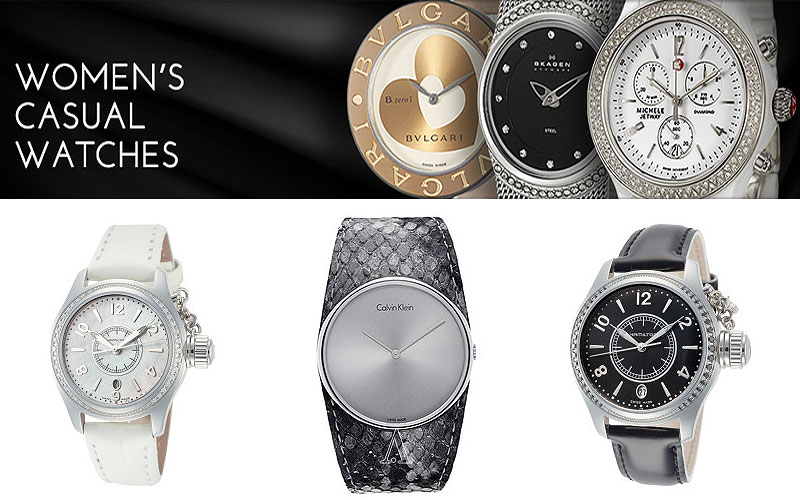 Up to 90% Off on Top Brands Women's Watches