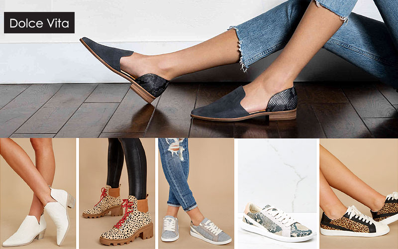 Trendy Dolce Vita Footwear on Sale Prices