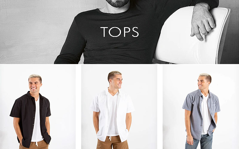 Summer Sale: Up to 35% Off on Men's Clothing