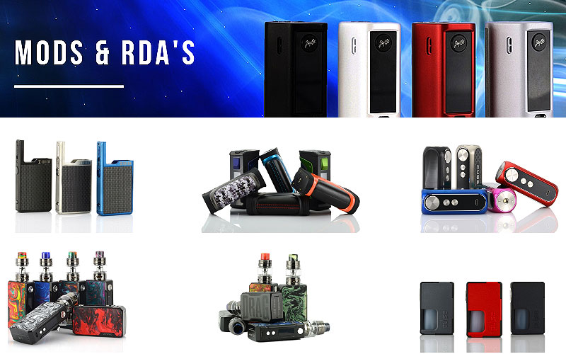 Buy Quality Vaping Mods & RDA's at Discount Price