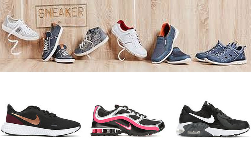 Up to 55% Off on Women's Sneakers & Athletic Shoes