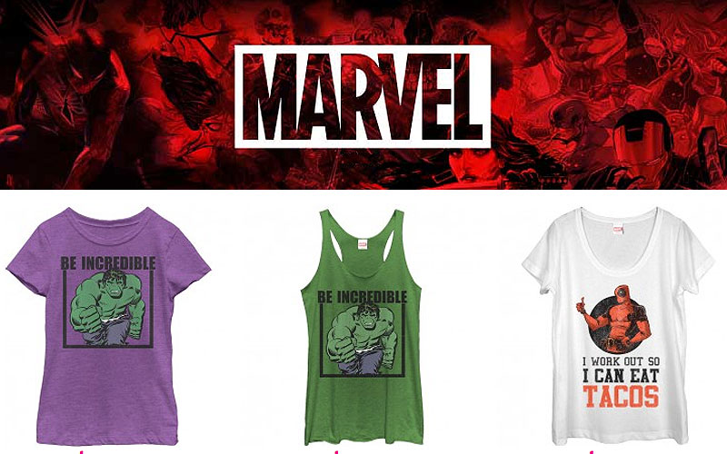 Best Marvel Shirts & Tank Tops at Lowest Price