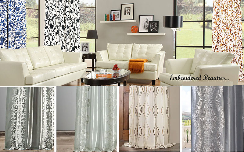 Up to 50% Off on Embroidered Curtains