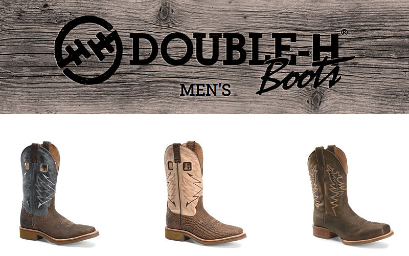 Shop Online Double H Boots for Men at Discount Price