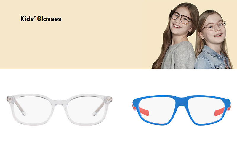 Eyewear Sale: Buy Kid's Eyeglasses at Discount Prices