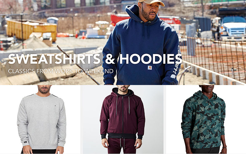 Up to 70% Off on Sweatshirts & Hoodies